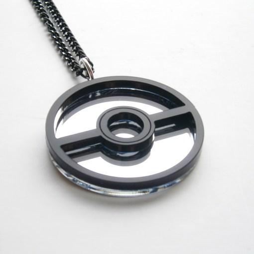 Pokemon Poke Ball Necklace