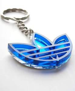 Adidas keychain blue transparent3