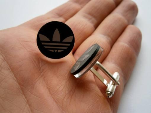 adidas black mirror cufflinks1
