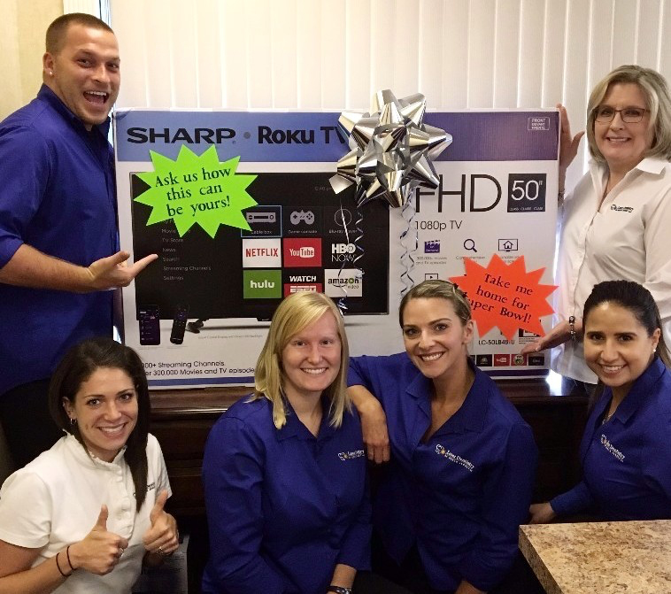 laser dentistry of NJ enter to win a free TV