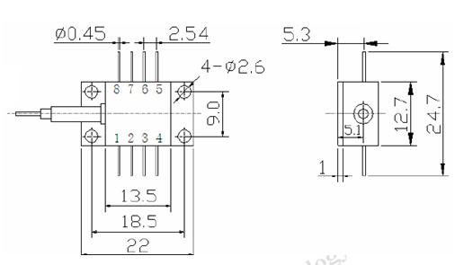 Diodo láser SLED-Súper diodos emisores de luz,Transmisión