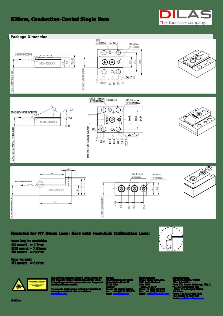 medium resolution of 632nm laser diode 8 watts