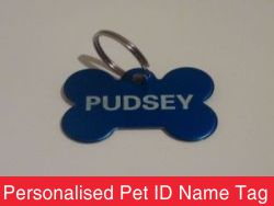 Personalised Pet ID Name Tag