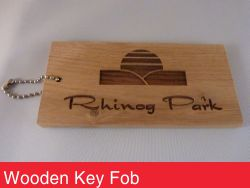 Wooden Key Fob