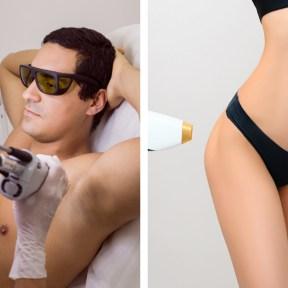 laser hair removal underarms and Brazilian bikini