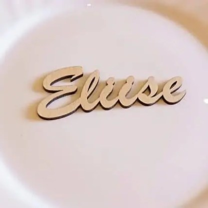 Nimeline kohakaart Eliise