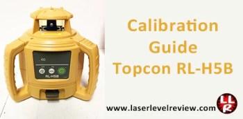 Calibration Guide Topcon RL-H5B