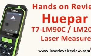 Huepar T7-LM90C LM200C Laser Distance Measure Review