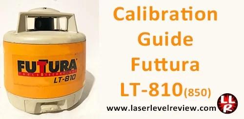 Futtura LT-810 LT-850 Calibration Guide