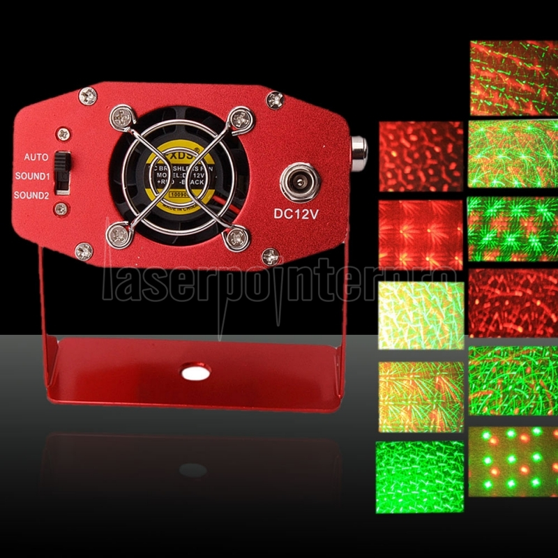 fireworks style mini laser stage lighting with different pattern
