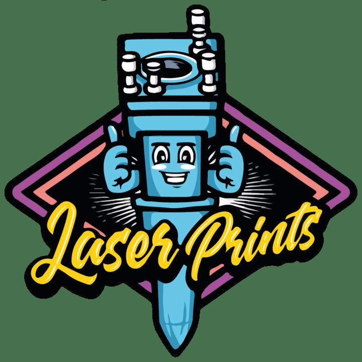 Laser prints