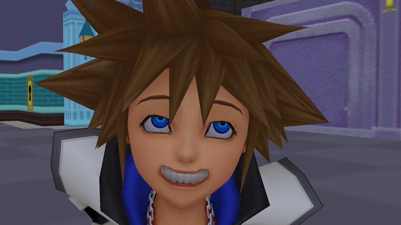 Image result for kingdom hearts sora smile
