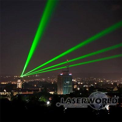 Landmark Laser und Sky Laser mit hoher Leistung