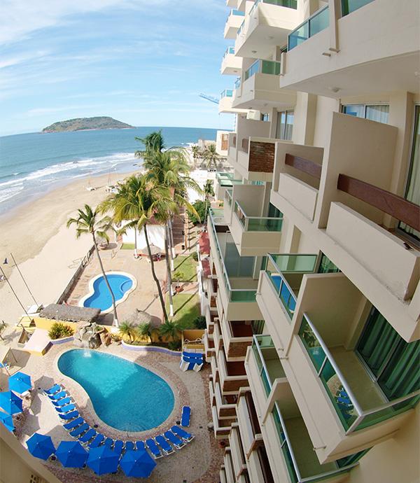 Habitaciones Mazatlan Suites Las Flores Beach Resort