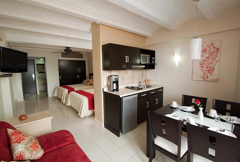 Habitaciones Mazatlan Suites Las Flores Beach Resort Playas Sol Semana Santa Vacaciones
