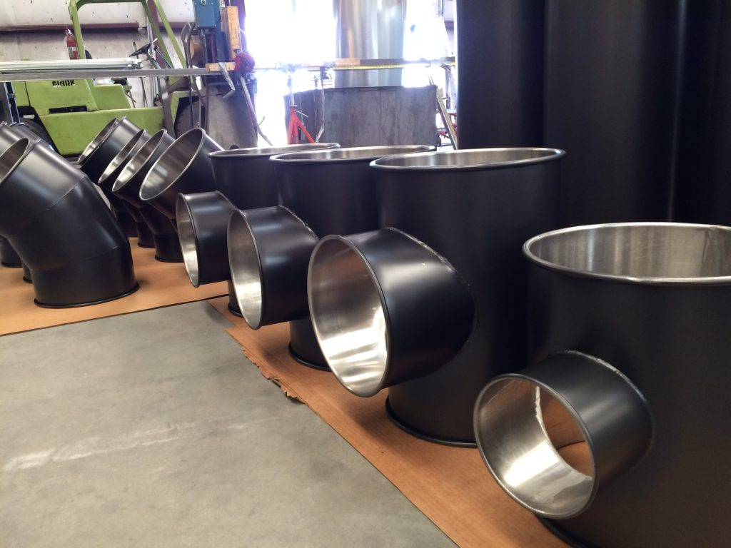 hvac stainless steel duct