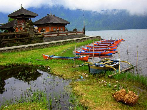 Lake Bratan & Pura Ulun Danu Bratan Temple