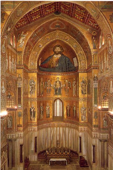 Ábside de la catedral de Monreale