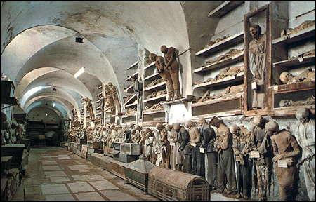 Catacumbas de los Capuchinos