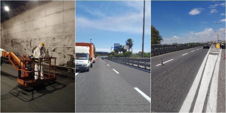 Operazioni di restyling per viale Mediterraneo