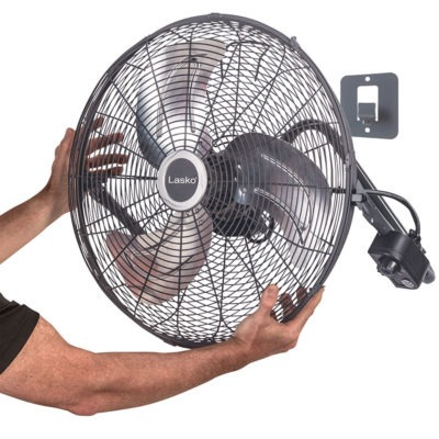 High Velocity Floor or WallMount Fan  Lasko Products