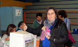 Dayana Romo, presidenta Asemuch de El Tabo.