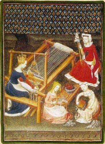 vida cotidiana de mujeres medievales