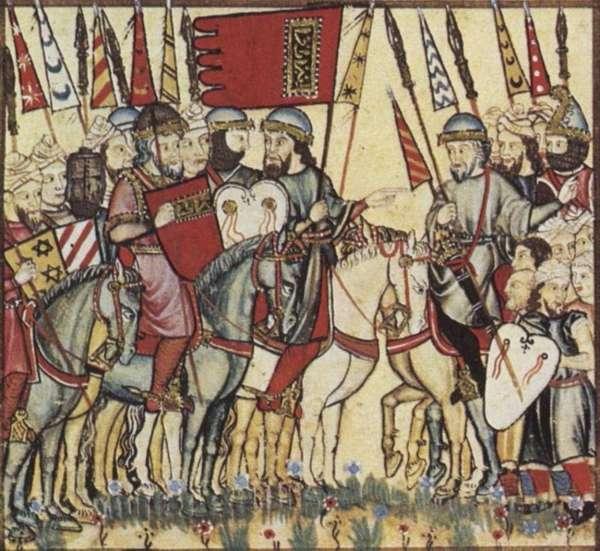 Ayuda de Muhammad de Granada a la revuelta mudéjar de 1264