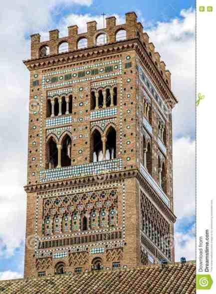 Torre mudéjar de la iglesia de El Salvador (Teruel)