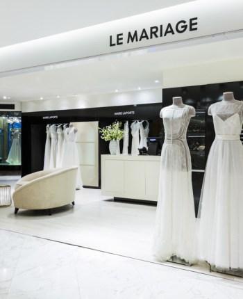 Un espace 100% dédié au mariage au Printemps Haussmann