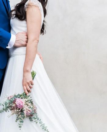 Le mariage vintage d'E & D dans le Finistère