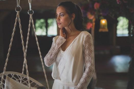 Robe de mariée dos nu Les Mariées Fox - Giverny