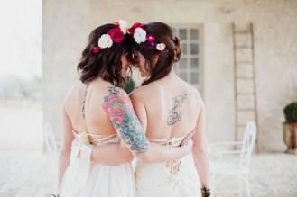 Mariées tatouées