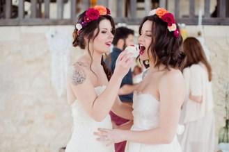 Cupcakes à un mariage