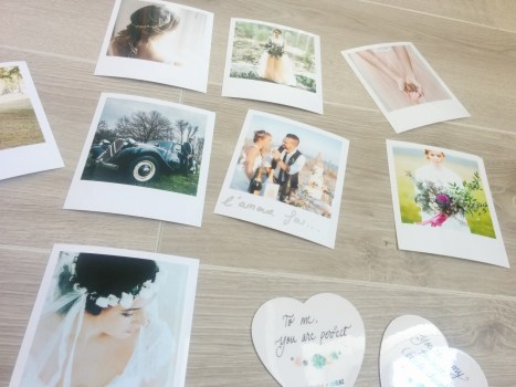 Photo et magnet de la wedding box de Cheerz x ZankYou
