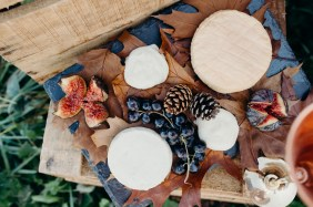 plateau de fromages à un mariage