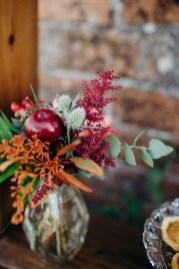 Fleurs pour un mariage en automne