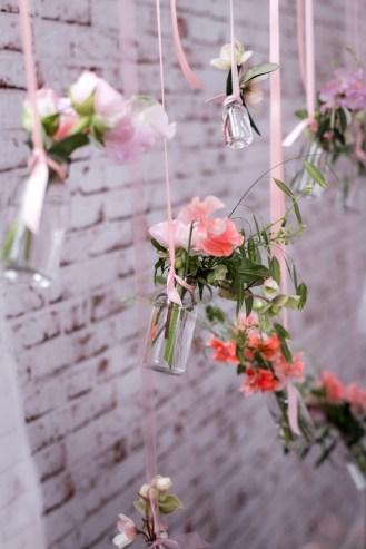 Fleurs suspendues