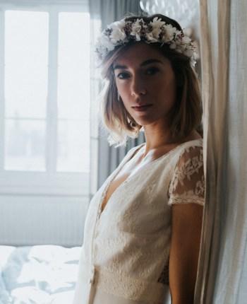 La collection de robes de mariée civile de Lorafolk