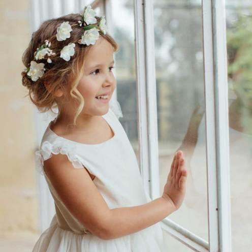 Couronnes de fleurs pour fillette de cortège Les Petits Inclassables