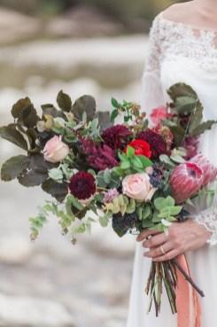 Bouquet de mariée kinfolk