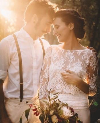 Un mariage sur les terres chaudes de Provence