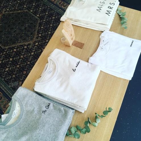 Sweat et tshirts Buttée en coton bio
