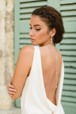 Bijou de dos Clélie pour robe de mariée dos nu