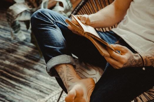 Lecture pieds nus