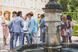 Invités de mariage en Provence