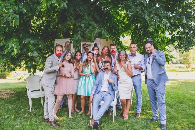 Photobooth avec les invités
