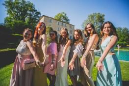 Bracelets de demoiselles d'honneur