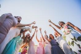 Trinquer à la santé des mariés