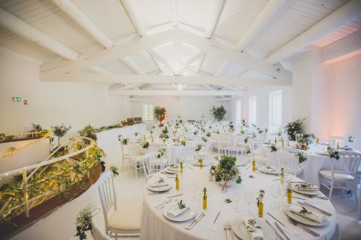 Salle de réception mariage provencal